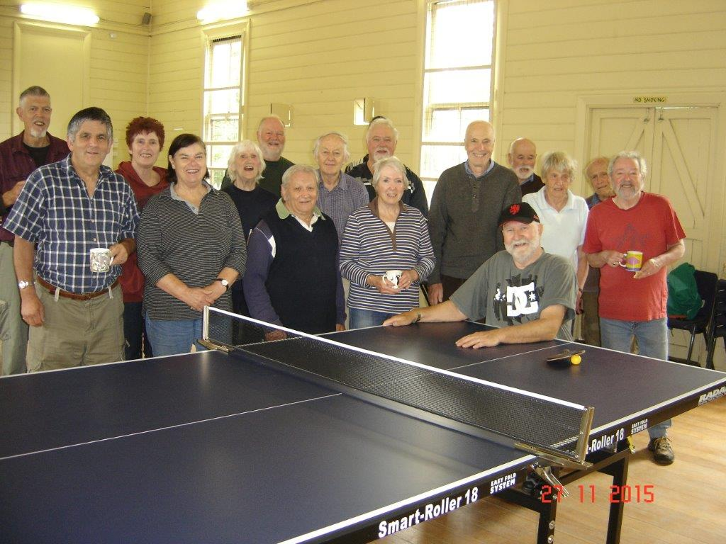 Creswick & Daylesford Table Tennis Match 1