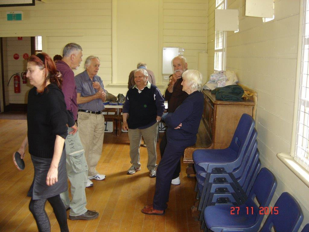 Creswick & Daylesford Table Tennis Match 4
